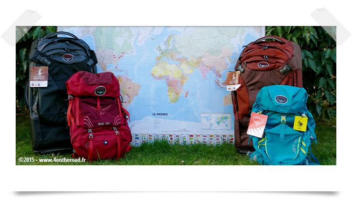 Bagages tour du monde