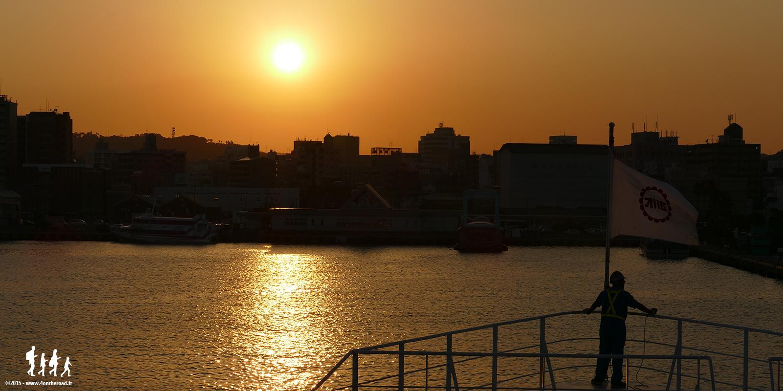 Retour à Kagoshima