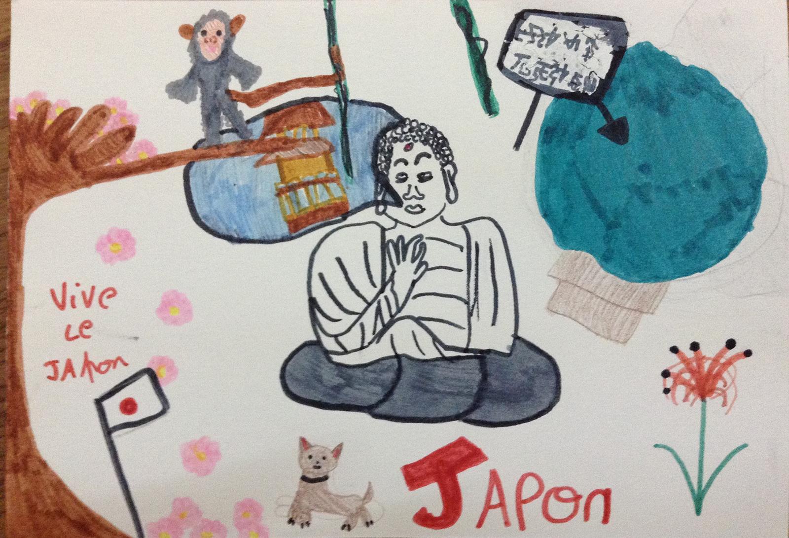 Le Japon par Lucie