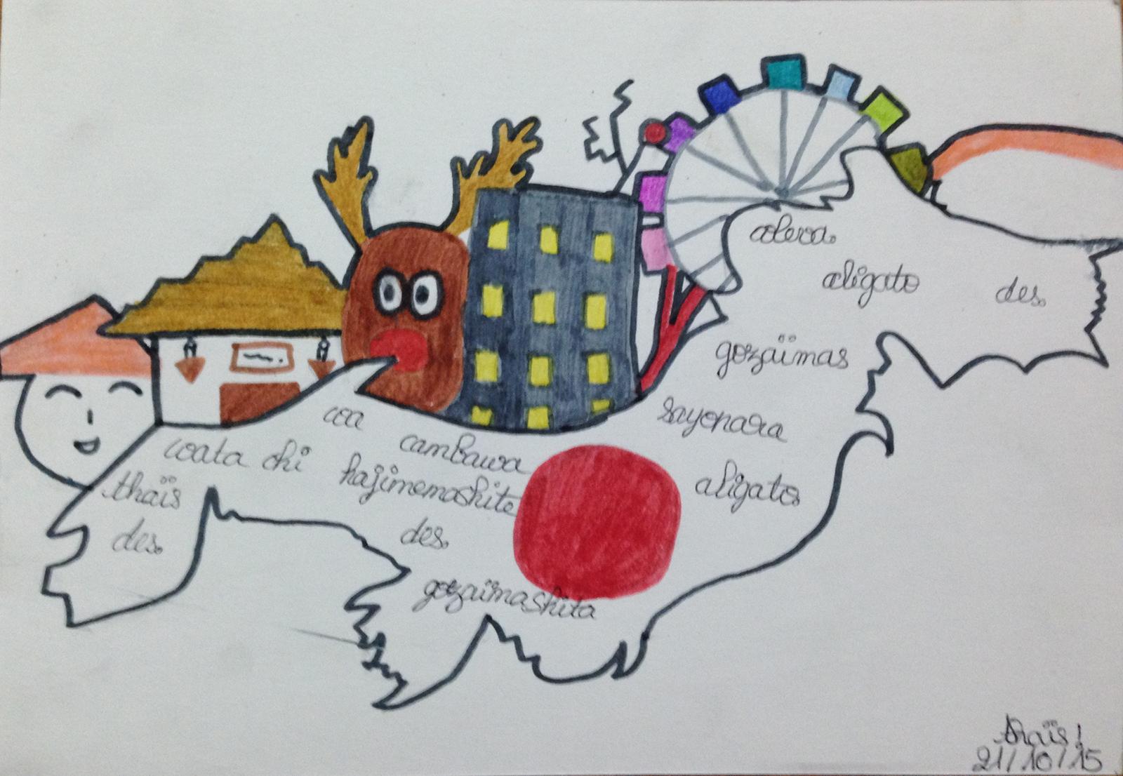 Le Japon par Thaïs