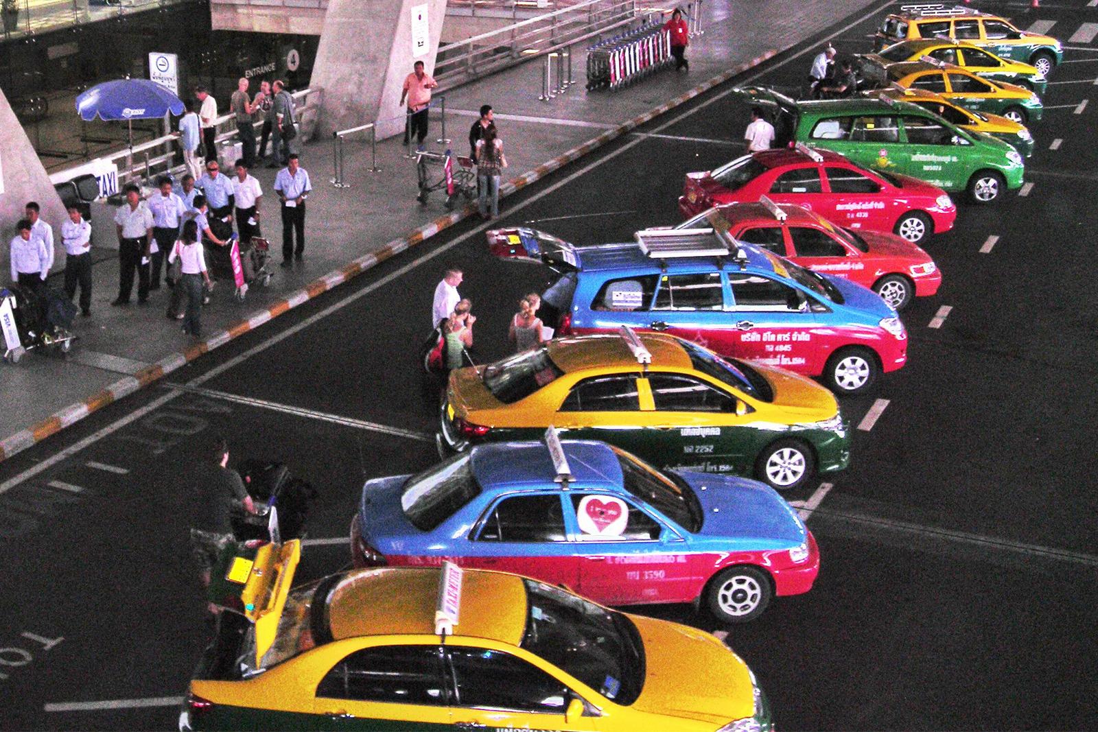 Taxis, Bangkok